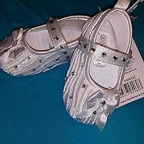 Infant Shoes With Swarovski Crystals Photo