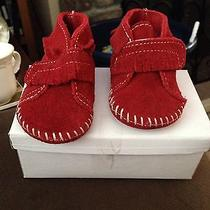 Infant Size 2 Minnetonka Moccasins Photo
