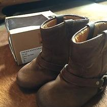 Infant Small Frye Harness Bootie Size 3 Photo