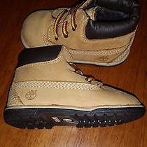 Infant Timberland Boots Size 3 Photo