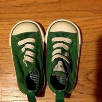 Infant/toddler Green Converse Shoes Photo
