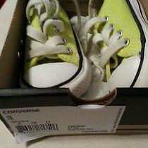 Infant Toddler Neon Yellow Converse Photo
