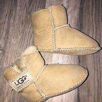 Infant Ugg Boots Size S Sand Brown Uggs Photo