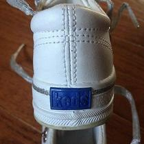 Infant White Girls Keds Size 5  Photo