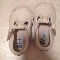 Infant White Keds Size 2 Photo