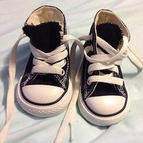 Infants Size 2 Converse Sneakers  Photo