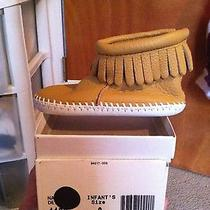 Infants Size 3 Minnetonka Moccasins  Photo