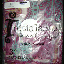 Initials Inc. Sarong Photo