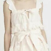 Innika Choo Scallop Frill Mini Dress Blush Size 1 Photo