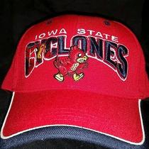 Iowa State Cyclones Official Collegiate Hat Cap Adjustable New Embroidered Isu Photo