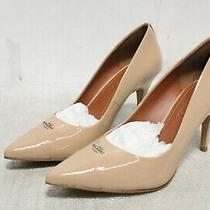 Ip3-2569 Coach Women's Patrice Beechwood Leather Pump Shoes Sz 7.5b Photo