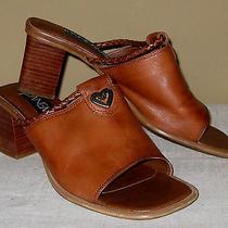 Ipanema 'Porshe' Caramel Sandal 7 M Slides 2.5