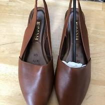 Ipanema Women's Shoes (Size 10 m) Block Heels Slingback Brown Leather New Taffy Photo