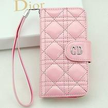 Iphone 5s Christian Dior Pink Women's Folio Wallet  Photo