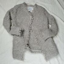 Iro Size 36 Campbell Sweater Jacket Cardigan Shrug Fringe Mohair Photo