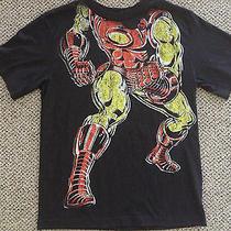 Iron Man Suit Body T Shirt Size Large Old Navy Black Tee Marvels Avenger Stark Photo