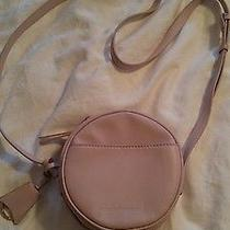 Isaac Mizrahi Blush Nolita Leather Canteen Crosdbody Handbag Purse  Qvc a Cond Photo