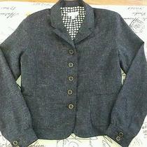 Isaac Mizrahi - Heather Gray Speckled Blazer - Size 12 - My Closet  Photo