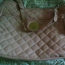 Isaac Mizrahi Live Bridgehampton Quilted Lamb Leather Hobo Bag Blush 196 Nwt Photo