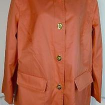 Isaac Mizrahi Live Water Repellent Coat With Turn Key Closure Medium Photo