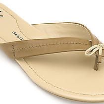 Isaac Mizrahi Live Women Nancy Thong Sandal 10 Brown New in Box  Photo