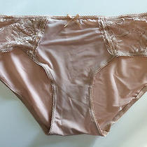 Isaac Mizrahi Panties - Silky Sheer Microfiber Blend - Nude - Large Photo