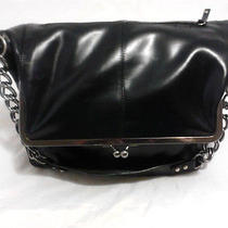 Isaac Mizrahi Shoulder Bag Black Purse   Photo