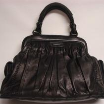 Isabella Fiore Huge Black Handbag W/prada Dust Bag Photo