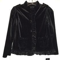 Isobella & Chloe Black Velvet Jacket (10) (New) Photo
