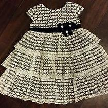 Isobella & Chloe Little Girls Dress 3t Holiday Wedding Nordstrom Euc Photo