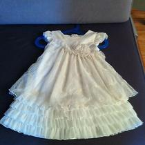 Isobella & Chloe Special Occasion Holiday Champagne Dress Size 2t Photo