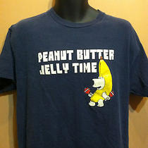 iT's Peanut Butter Jelly Time Brian Griffin Family Guy T Shirt - Large-  Photo