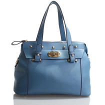 Italian Leather Blue Handbags Purse Hobo Bag Satchel Tote Clutch Photo