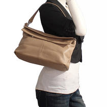 Italian Leather Brown Handbags Purse Hobo Bag Satchel Tote Clutch Photo