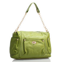 Italian Leather Green Handbags Purse Hobo Bag Satchel Tote Clutch Photo