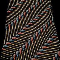 Italian Nwot-Golf Clubs-Ermenegildo Zegna Design Exclusive 100% Silk Tie Photo