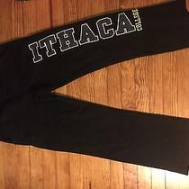 Ithaca College Black Jansport Sweatpants  Photo