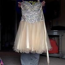 Ivory Homecoming Dress Size 4 by Blush Prom Photo