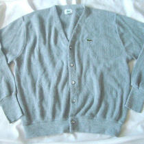 Izod Lacoste Orlon Acrylic  Cardigan Made in Usa Xl C11-7 Photo