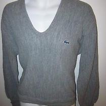 Izod Lacoste - v-Neck Sweater - Size Large Photo
