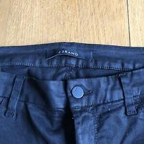 J Brand Black Skinny Ankle Jeans Anja Size 31 Photo