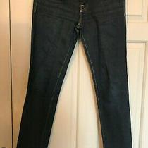 J Brand Blue Jeans Cigarette Leg Size 26 Photo