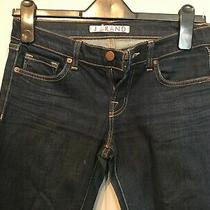 J Brand Blue Jeans Size 26 (Ink) Inside Leg 26 1/2 Inches Photo