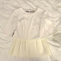 J Brand Ivory Top. Size Small. Excellent Condition Photo
