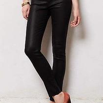J Brand Jeans 620 Super Skinny in Black Lacquered Quartz Sz 25 0 212 New Photo