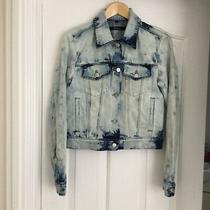 J Brand Ladies Long Sleeve 100% Cotton Pale Blue Soft Denim Jacket - Size S Photo