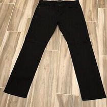 J Brand Men's Kane Straight Fit Jean in Black Size 38 Photo