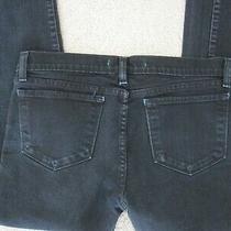 J Brand Slim Fit Bootcut Womens Jeans 944 Jett (Black/blue) Size 29 Photo