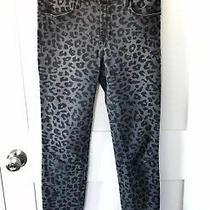 J Brand Super Skinny Jeans - Onyx Leopard Size 27 Photo