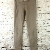 J Brand Women's Size 26 Super Skinny Kenya Twill Jeans Tan Khaki Stretch 9011596 Photo